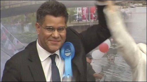 Wining Tory candidate