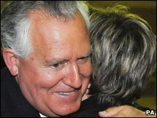 A relieved Peter Hain