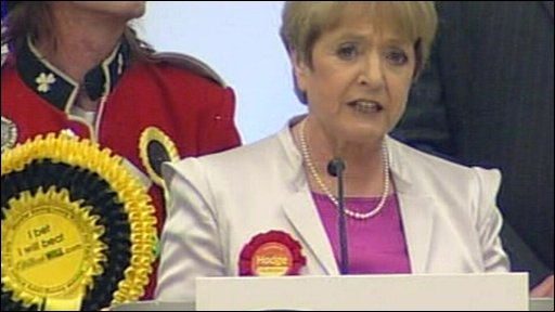 Margaret Hodge tells the BNP to get out and stay out