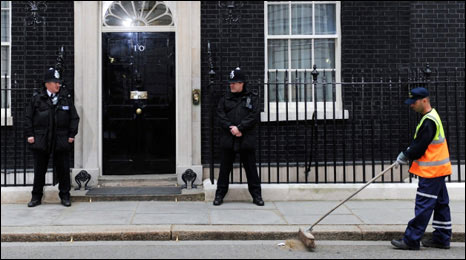Downing Street on Friday