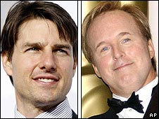 Tom Cruise and Brad Bird