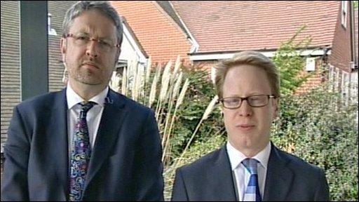 Chris Mole and Ben Gummer MP