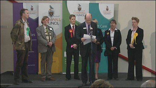 Cornwall election count