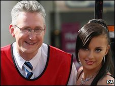 Gabriela Irimia with Lembit Opik in 2007