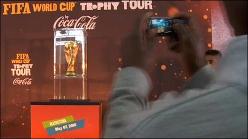 World Cup on show