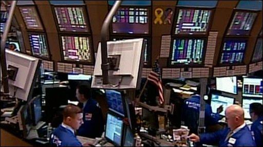 Stock markets in New York