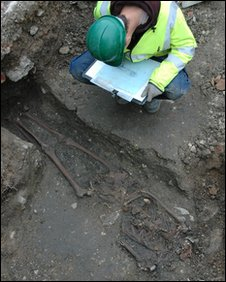 Picture copyright Gloucestershire County Council Archaeology Service