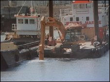 Millbay dredging