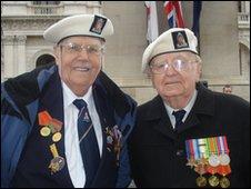 Rob Harris (left) and Bayden Hall