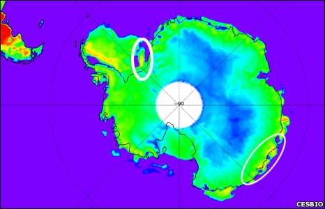 Antarctica (CESBIO)