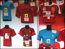 Fernando Alonso shirts on sale