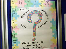 Poster from autism project launch in Ireland