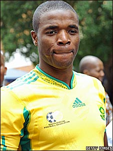 South Africa captain Aaron Mokoena