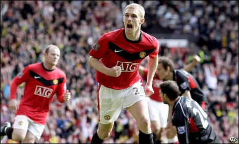 Darren Fletcher put United in front