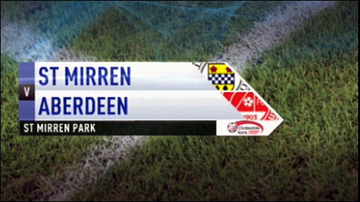 St Mirren v Aberdeen
