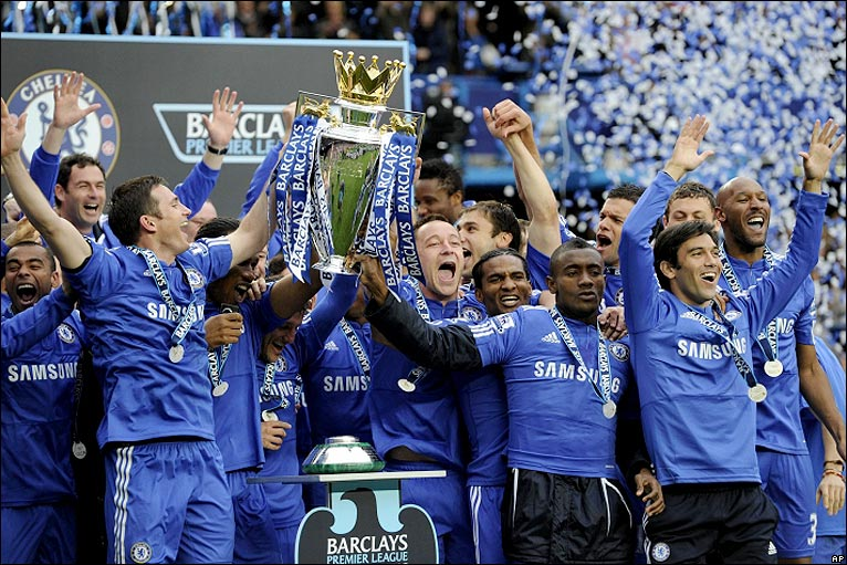 Chelsea winners of 09-10 EPL Season