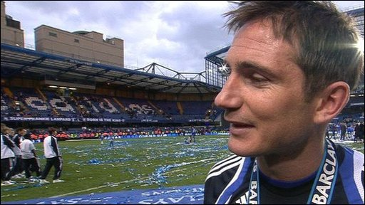 Chelsea midfielder Frank Lampard