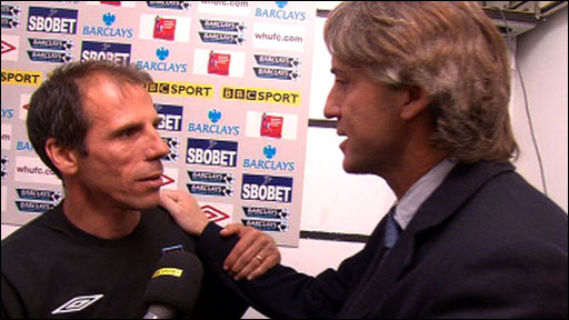 Gianfranco Zola &amp;amp; Roberto Mancini