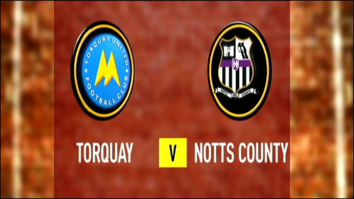 Torquay 0-0 Notts County