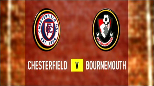 Chesterfield 2-1 Bournemouth