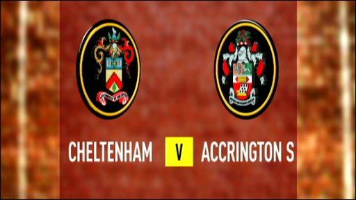 Cheltenham 1-1 Accrington Stanley