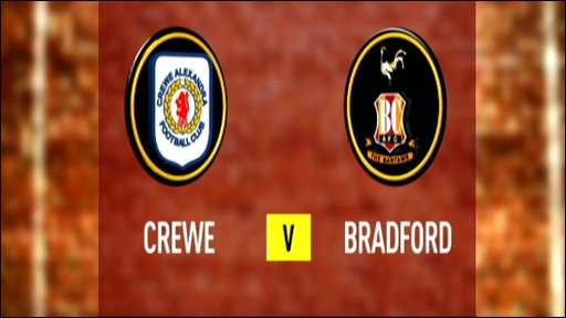 Crewe 0-1 Bradford