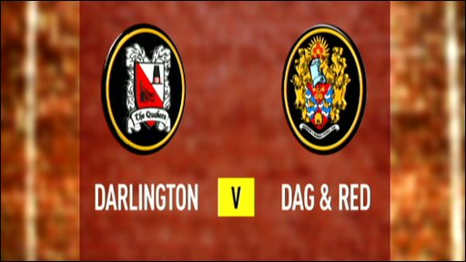 Darlington 0-2 Dag & Red