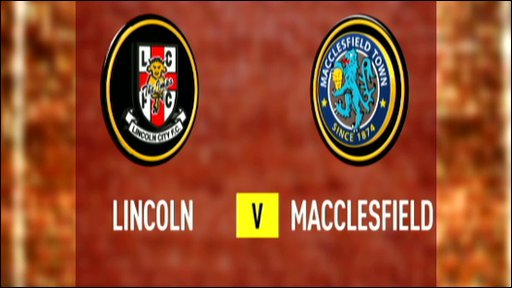 Lincoln City 0-0 Macclesfield