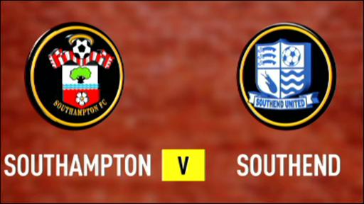 Southampton 3-1 Southend