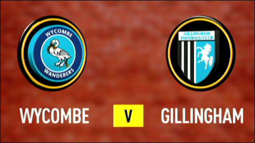 Wycombe 3-0 Gillingham