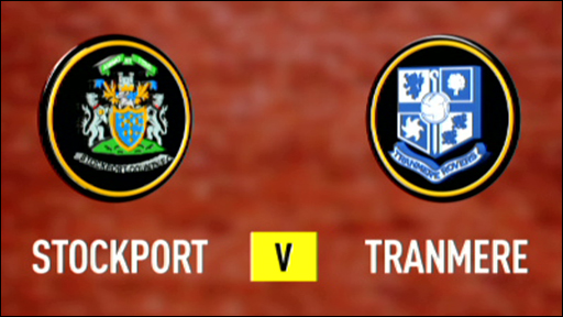 Stockport 0-3 Tranmere