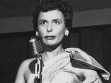 Lena Horne performs in Las Vegas in 1954