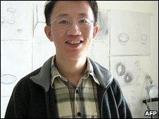 Chinese dissident Hu Jia (file image)