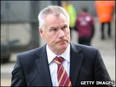Bradford City manager Peter Taylor