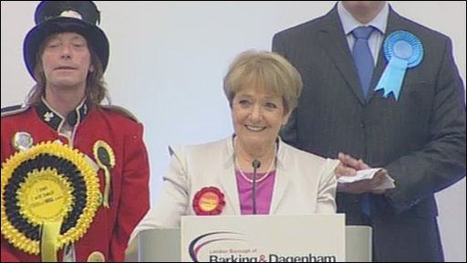 Margaret Hodge told the BNP to 'get out and stay out' of Barking