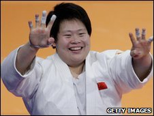 China judo champion Tong Wen