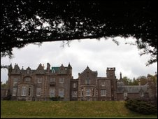 View of Abbotsford House