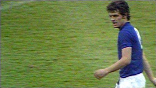 Fabio Capello playing for Italy