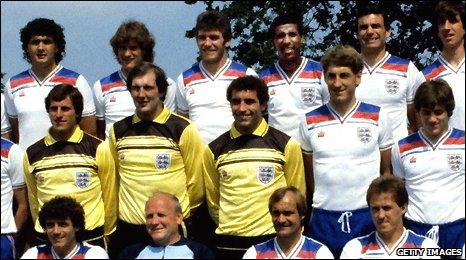 England squad 1978