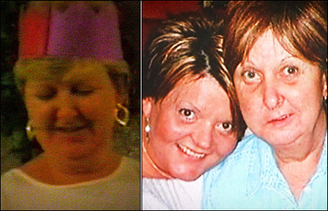 Joan McFadden, before and after she began a relationship with Desmond Davis