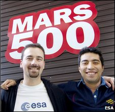 Romain Charles and Diego Urbina (Esa)