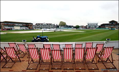 The County Ground at Taunton, home of Somerset
