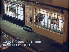 CCTV of vehicle