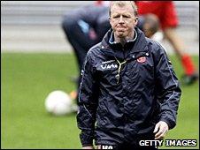 Twente coach Steve McClaren