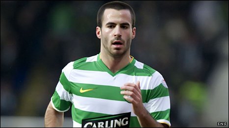 Celtic midfielder Marc Crosas
