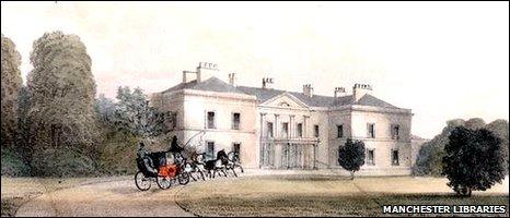 Hulton Hall in 1830