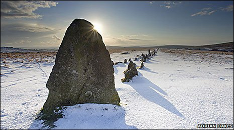 Merrivale stones (Adrian Oakes)