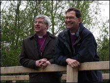 The Rt Rev Graham James, Bishop of Norwich and the Rt Rev Nigel Stock, Bishop of St Edmundsbury and Ipswich