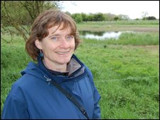 Jo Pitt of the Little Ouse Headwaters Project