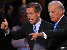 Beau Biden and his father Joseph Biden